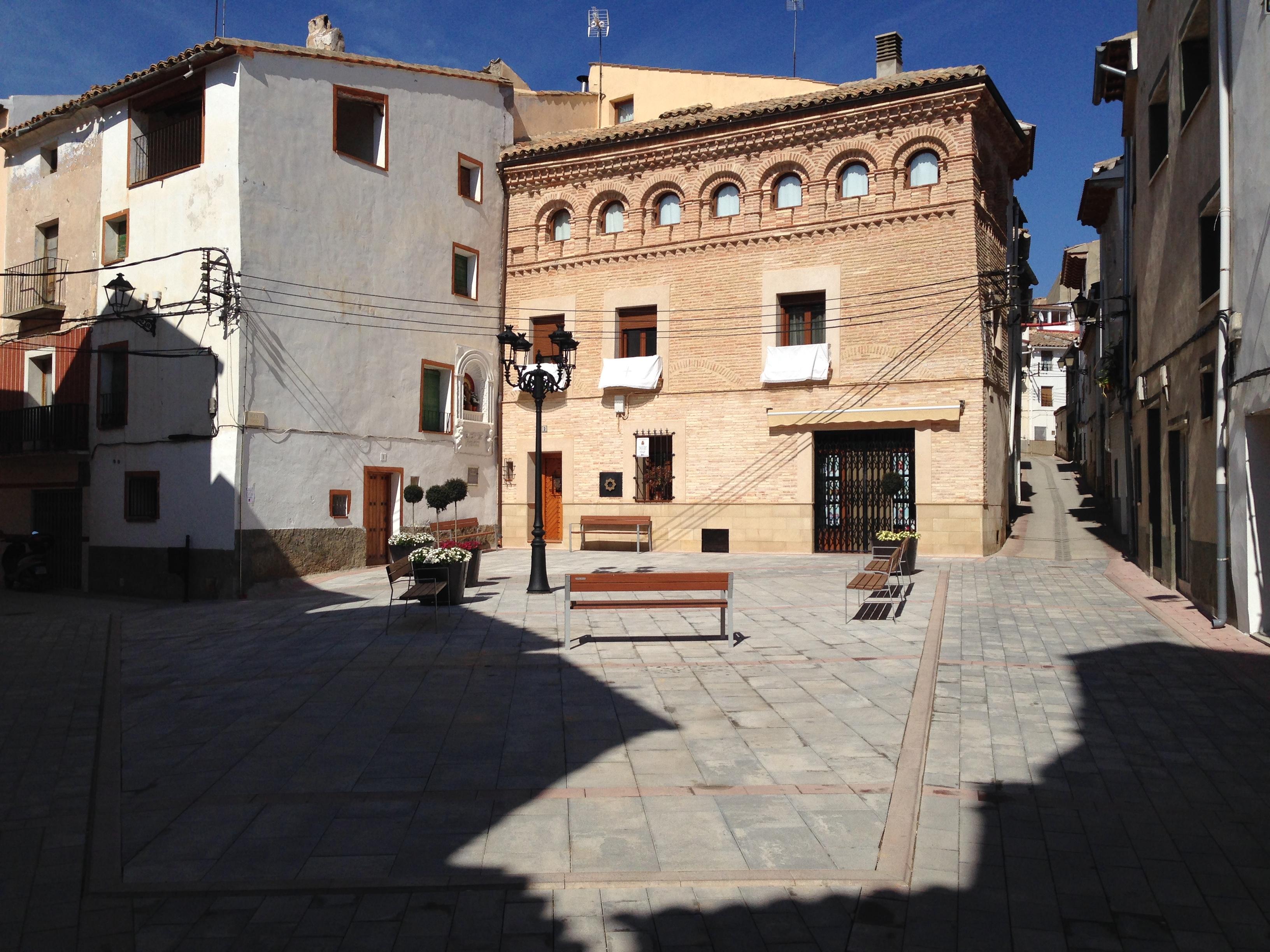 Plaza de la Parroquia desde la Capilla