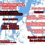 Maratón Fútbol Sala Hijar 2016