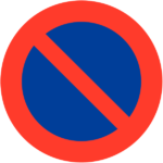Prohibido Aparcar en la Plaza de San Blas