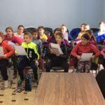 Los escolares de 3º de Primaria del Colegio visitan el Ayuntamiento de Híjar