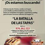 Nuevo Concurso Culinario en Aragón TV
