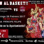 Inscripciones para asistir a Partido de Baloncesto en Zaragoza