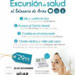 Excursión de Salud al Balneario de Ariño
