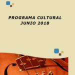 Programa Cultural Junio 2018