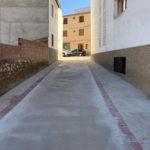 HÍJAR @L DÍA: Mejora de redes y pavimentación del Cantón de las Santas
