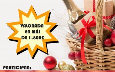 Entrega del premio Cesta Navidad 2020 Comerciantes de Híjar
